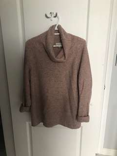 Aritzia- community Plutarch sweater / small / heather dust (pink)