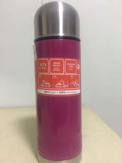 Tefal Vacuum Flask 0.7 litres*Ultra resistance*100% tight*Stainless Steel