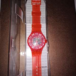 Swatch original (kode Suup100) beli di jepang harga asli ¥11880 sekitar rp 1.5juta