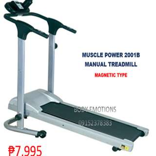 MUSCLE POWER 2001B MANUAL MAGNETIC TREADMILL