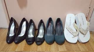 All 4 for 900 High heels and Slippers