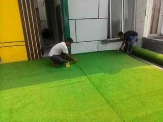 Rumput Sintetis Untuk Pemasangan Di Daerah Pasar Minggu Jaksel