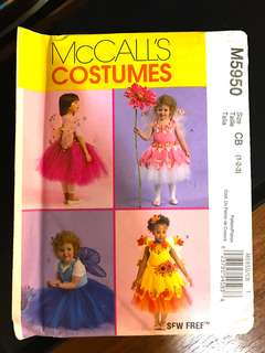 Fairy dress sewing costume