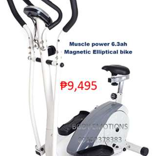 Muscle Power MP6.3GAH Magnetic Elliptical Bike
