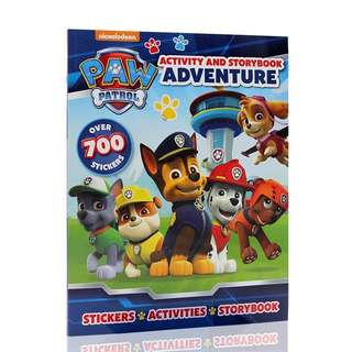 Paw Patrol Sticker book / storybook
