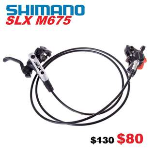 Shimano Slx M675 Hydraulic Disc Brake One Side Only -------- (XTR M9020 XT M8020 M8000 M785 SLX M7000 M675 M315 MT2 MT4 MT5 MT5E MT6 MT7 MT8 Trail) Dyu