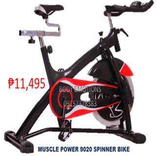 muscle power 9020 heavy duty stationary spin bike