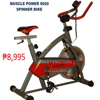 Muscle power 8914 stationary spin bike
