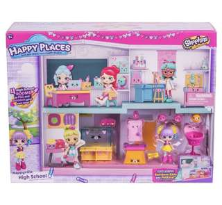 Shopkins Happy Ville Happyville High School Playset