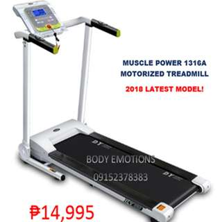 MUSCLE POWER 1316A ELECTRIC MOTORIZED TREADMILL