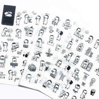 🚚 Sticker Sheets 3pcs