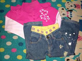 Bundle Terno for Cutie Kiddie Girls #6