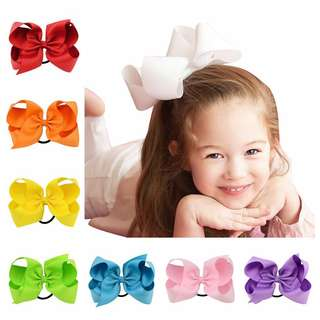 9pcs Grosgrain Ribbon Ponytail