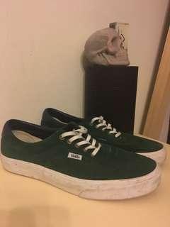 Vans Era 59 Forest Green Suede Size 10