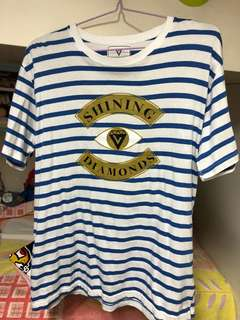 Seventeen Shining diamond Tee
