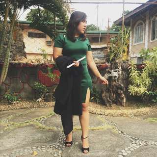 Apartment 8 Emerald Dress