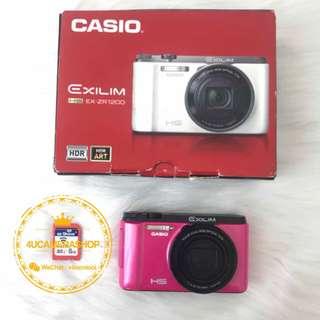 CASIO ZR1200 vividpink 粉红色 ⭐️⭐️