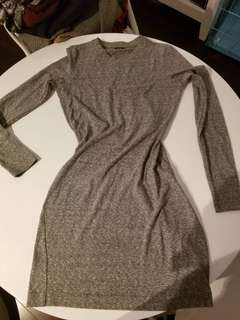 Club Monaco thin mini sweater dress