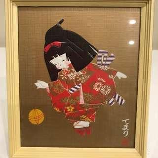 Japanese framed Prints X 3