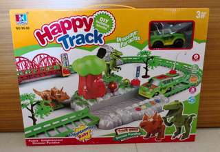 Happy Track With Dinosaurs