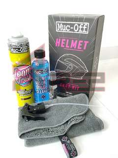 Muc-Off Helmet Care Kit (Instock)