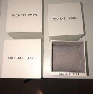 Michael kors watch boxes