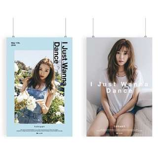 Tiffany IJWD Posters ( I Just Wanna Dance )