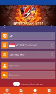 Speedster VPN selling for affordable price! Nag-uubos lang :)