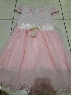 SALE..Gaun Pink