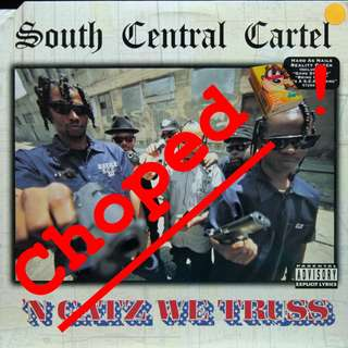 south central cartel Vinyl LP used, 12-inch, may or may not have fine scratches, but playable. NO REFUND. Collect Bedok or The ADELPHI.