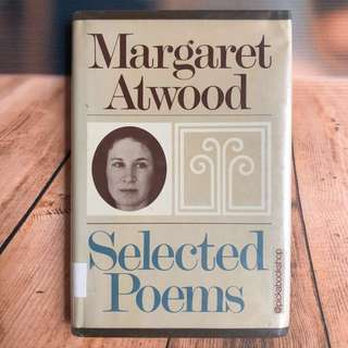 [RARE] Selected Poems Margaret Atwood