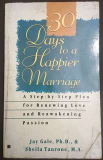 30 Days to a Happier Marriage
