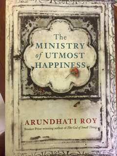 Shafak, Three Daughters of Eve; Starnone, Ties; Sugarbread; Akpan, Say You're One Of Them; Roy, The Ministry of Utmost Happiness; Cantor, Good on Paper