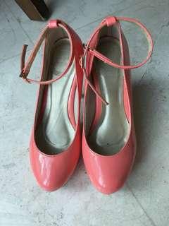 Baru dipakai 1x !! Girlie Shoes 👠 heel 12cm
