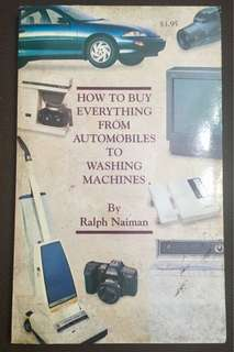 How to Buy Everything from Automobiles to Washing Machines