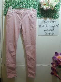 Pink Mossimo Skinny Jeans