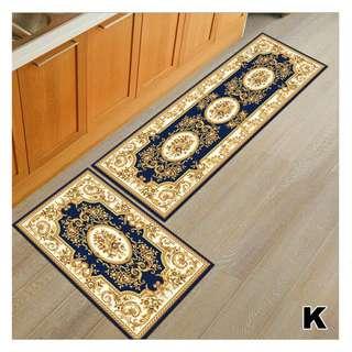 Kitchen Carpet Set 2 in 1