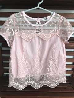 H&M Lace Top (4-5yrs)