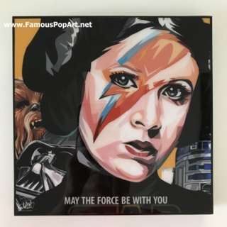 STAR WARS Princess Leia PopArt! Portrait Wall Deco Pop Art