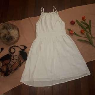 Zara Cotton Midi Dress