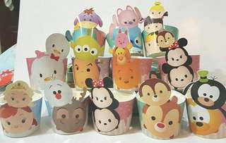 Tsum Tsum Party Cups