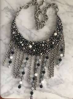 Statement Tassel Necklace