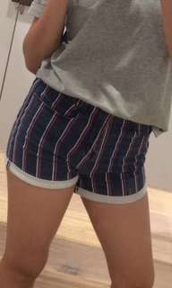cotton on striped shorts !!