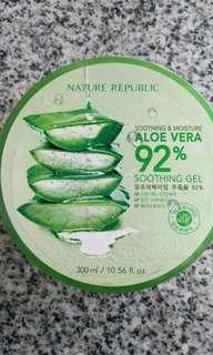 Aloevera soothing gel
