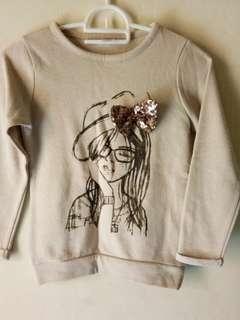 PL baju atasan anak perempuan