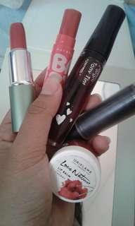 lipstick, lipbalm, liptint