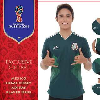 Mexico World Cup 2018 Player Issue Jersey