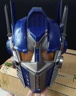 Transformers optimus prime helmet voice changer