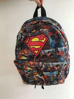 Superman H&M Kids Backpack Full-Print
