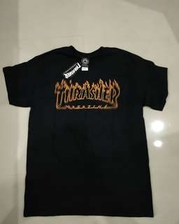 Trasher ritcher flame tee